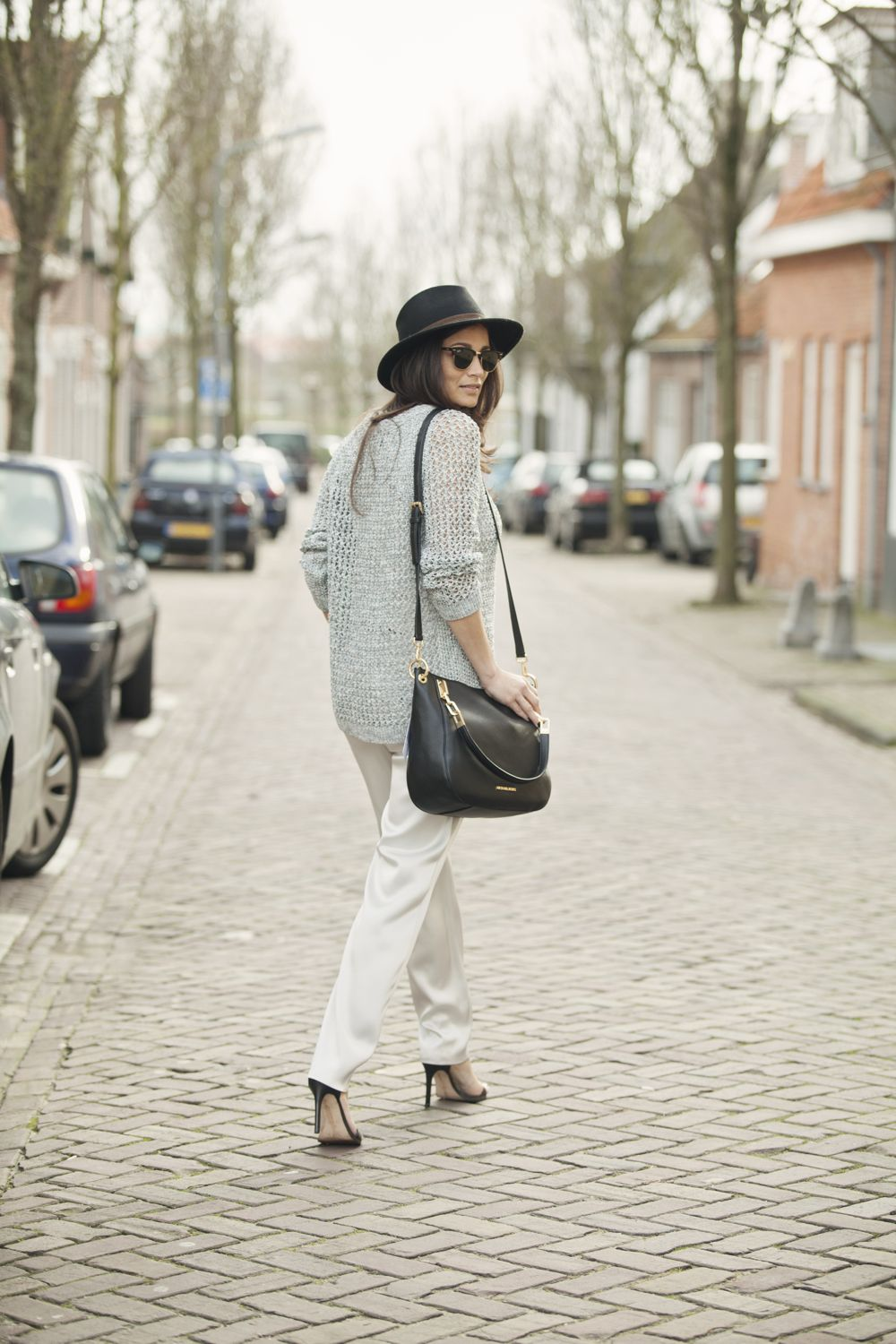 streetstyle spring summer 2015 street look shades of grey BlogForShops