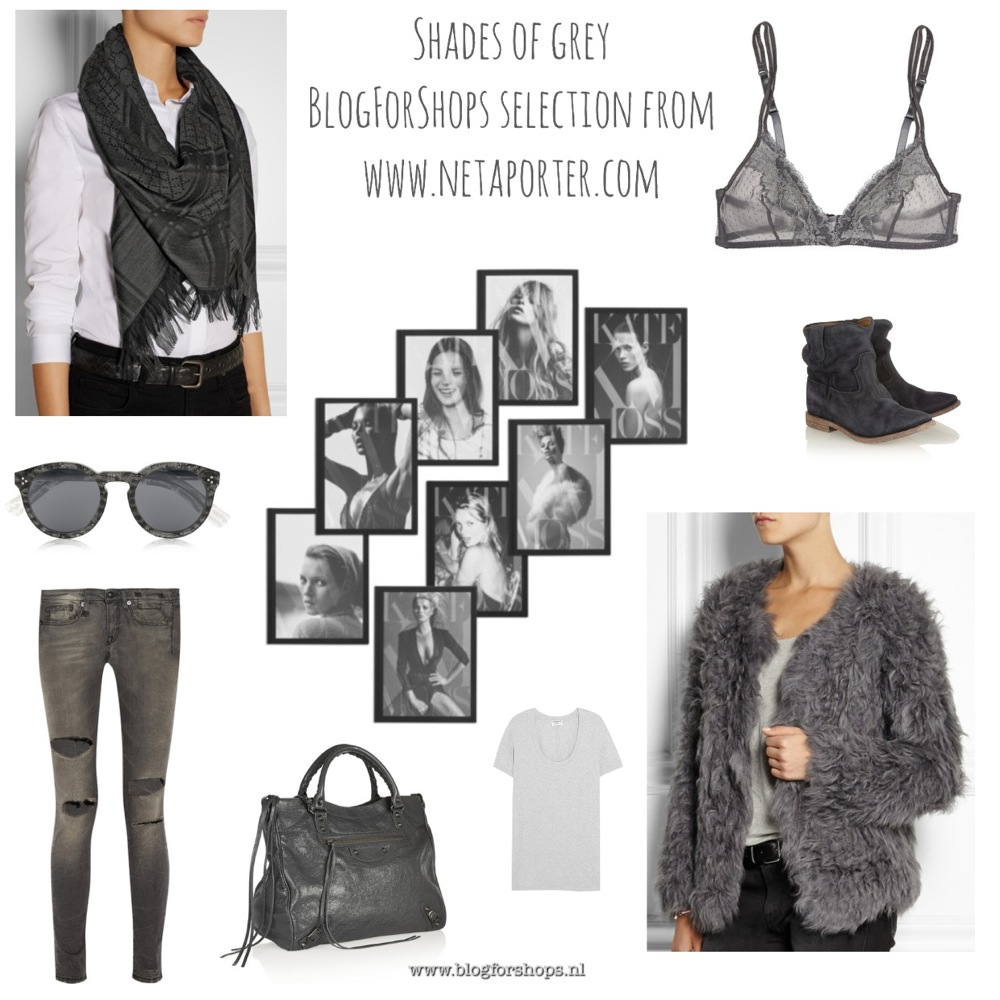 ShadesOfGreyNetaporter selection by BlogForShops