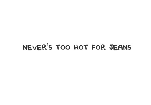 jeans quote BlogForShops