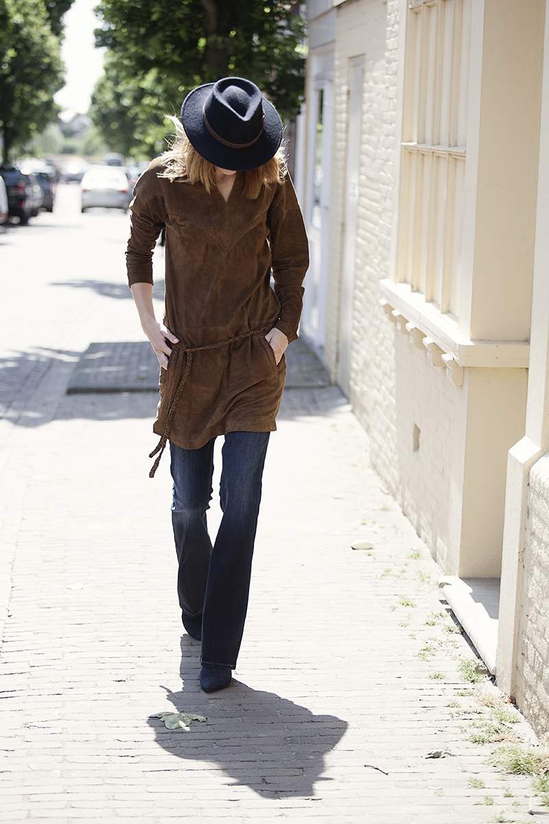 streetstyle photo brown suede fall winter 2015 ByDanie new arrivals styled by BlogForShops