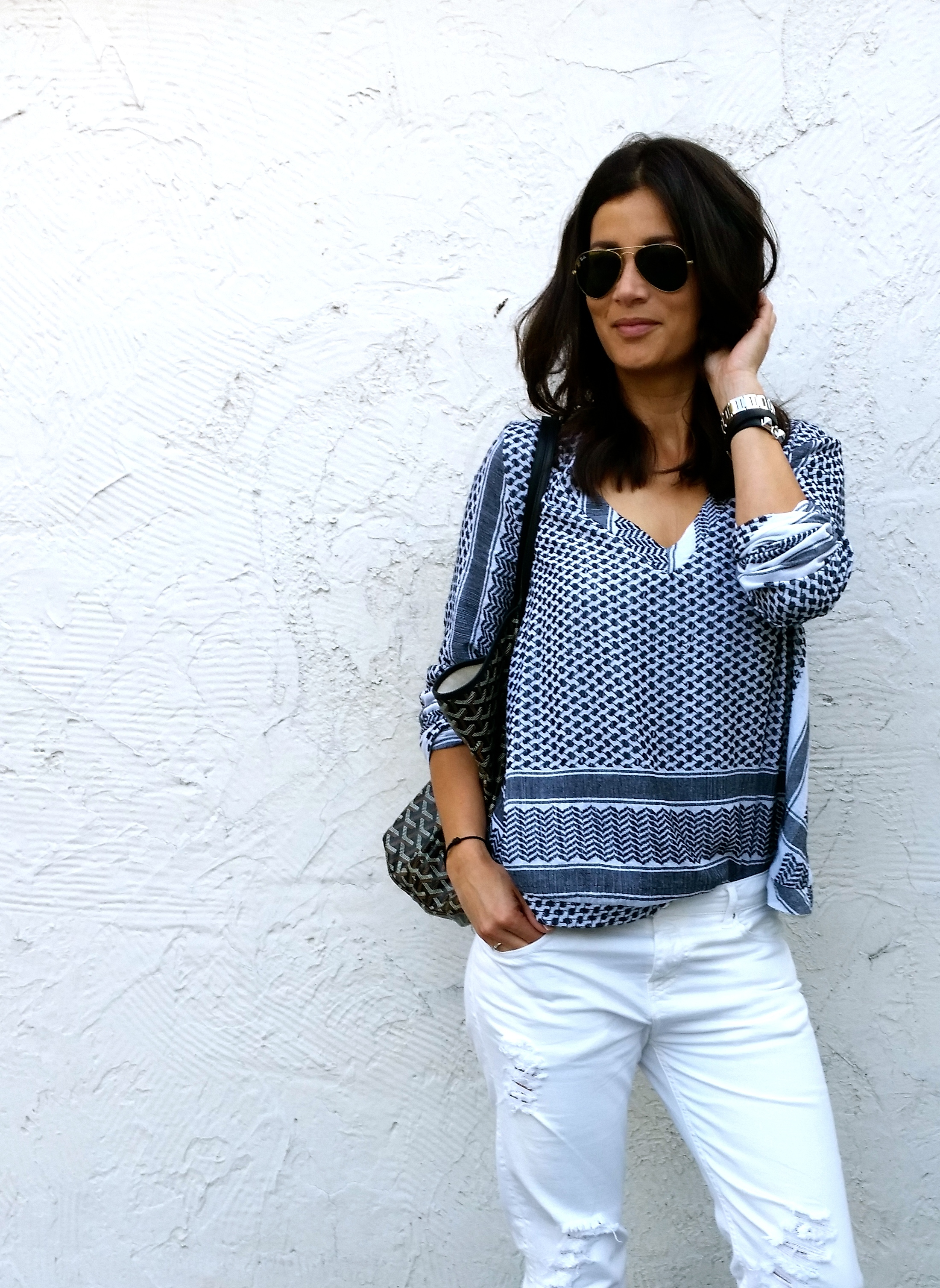 Streetstyle Cecilie Copenhagen top by Sabrina styleblogger of BlogForShops