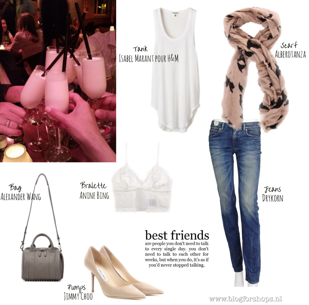 What I was wearing inspiration stylefeed by BlogForShops, Jimmy Choo nude agnes pumps