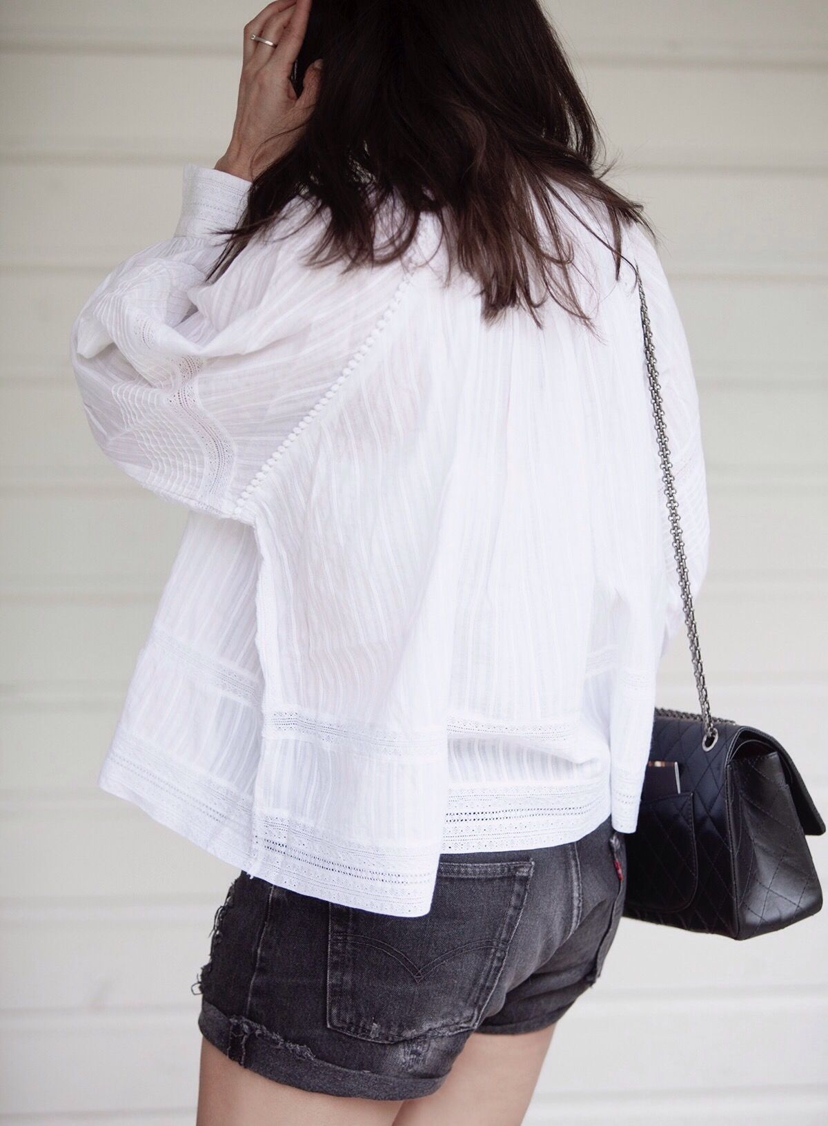 Zadig Voltaire top white skulls BlogForShops for Perfectlybasics.com streetstyle look of the day spring summer styling