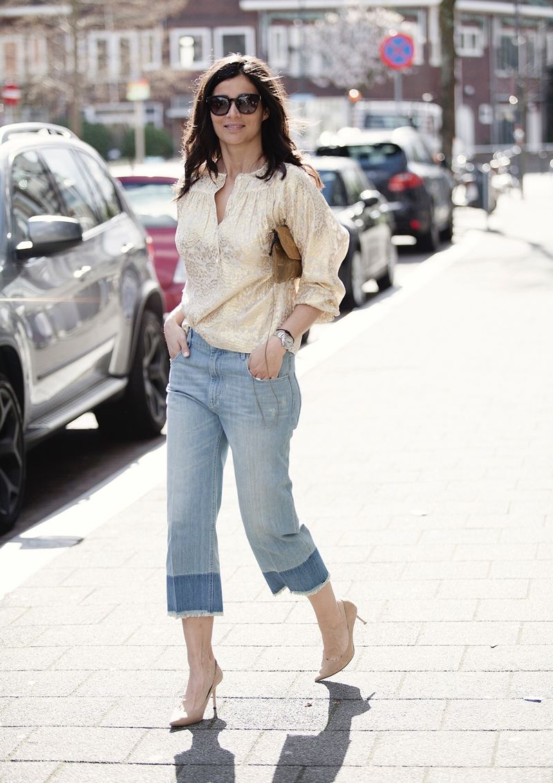 Streetstyle mom jeans Isabel Marant spring 2016 BlogForshops for Misses Breda