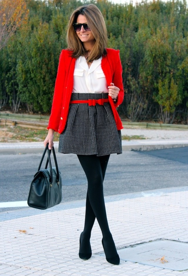 BFS Inspo pop of Red
