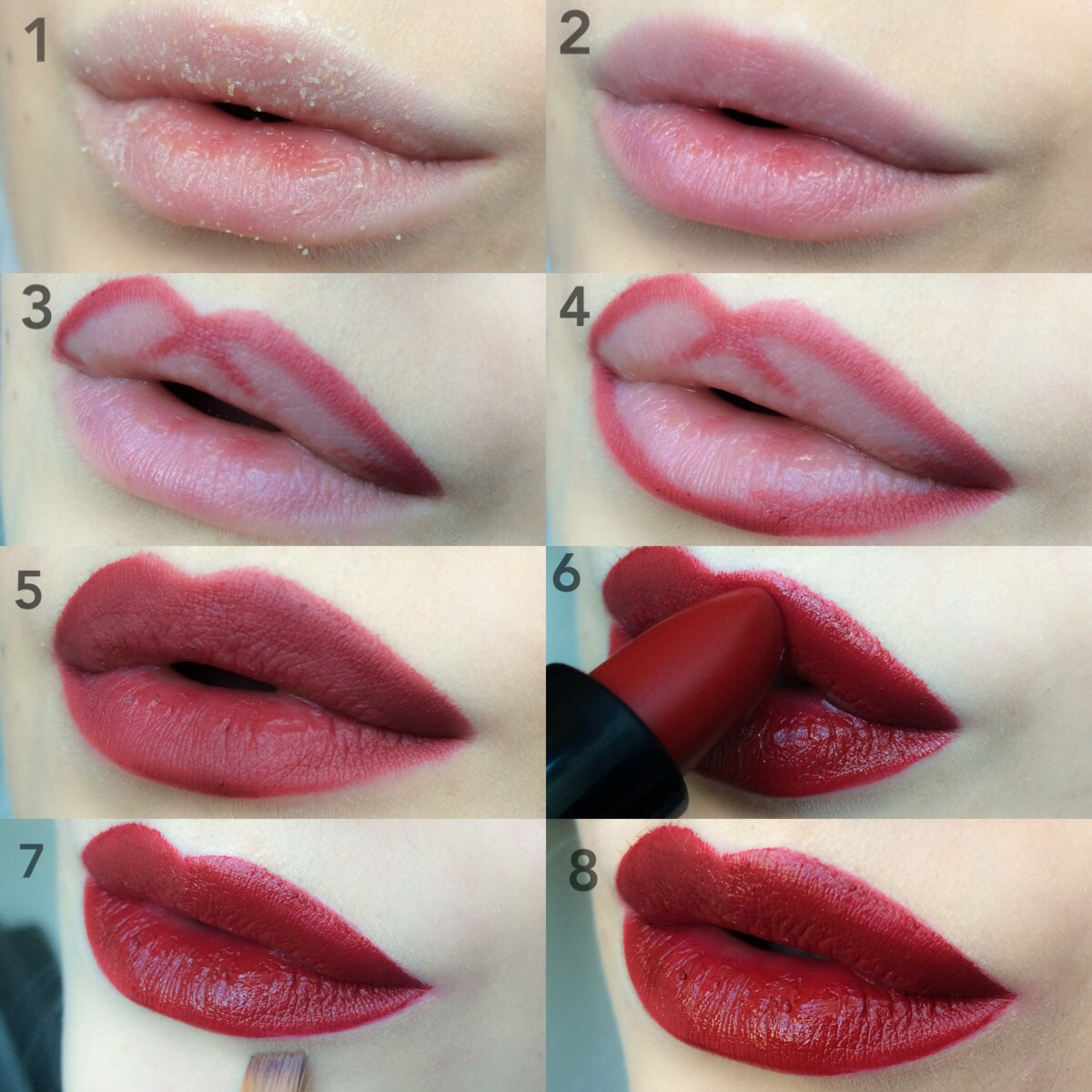 BlogForShops beauty tips&tricks the perfect red lips Photocredits Punchingpictures