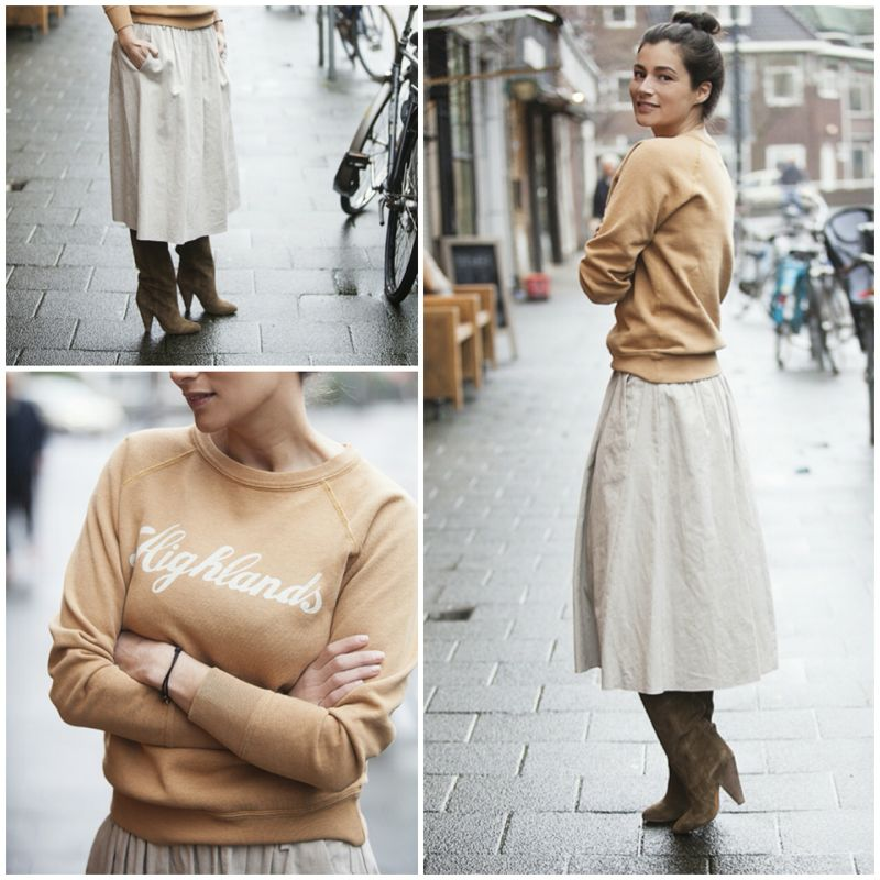 Streetstyle look BlogForShops spring Isabel Marant etoile Highlands sweater