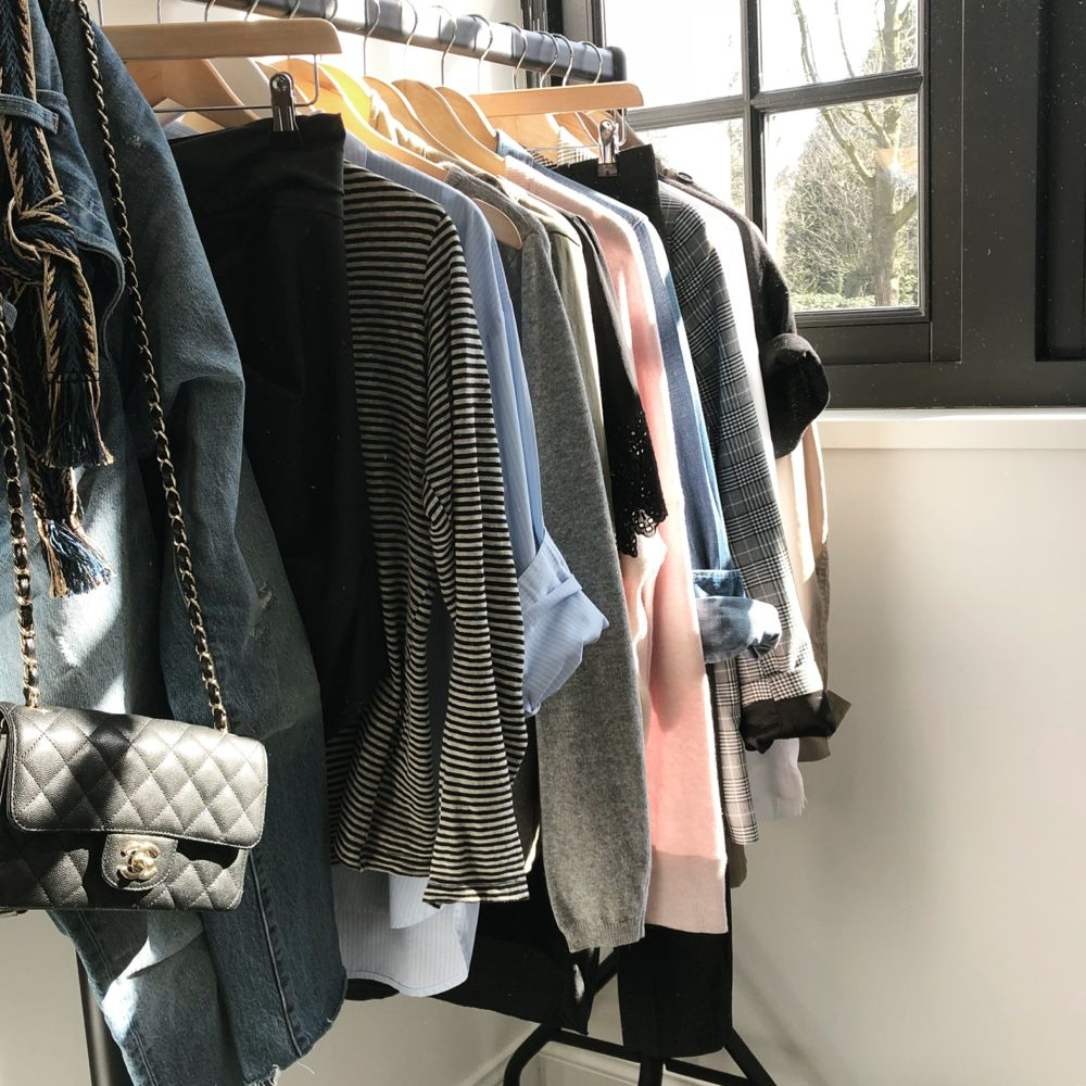 closet styling spring 2018 basics Sabrina Styling Stories